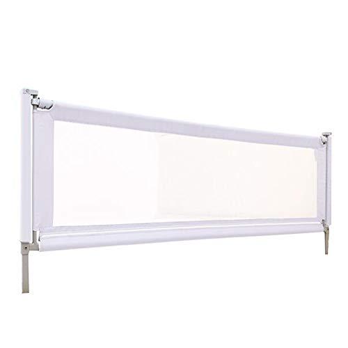 YYFANG Bettgitter Crib Baffle Railing Vertikaler Lift Glatt Und Geräuschlos Eng Anliegende Aufbewahrungstasche Design 300D Oxford Cloth, 4 Größen ( Color : Gray , Size : 180x61-83cm ) -