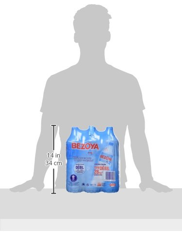 Bezoya Agua Mineral Natural Retractil - Pack de 6 x 1,5 l - Total: 9 l