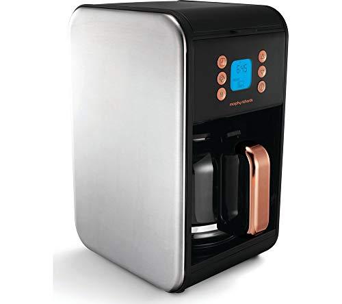 Morphy Richards 162011 Kaffeemaschine Accents-162011, Schwarz