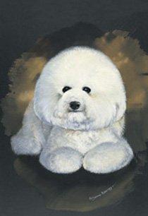 Best of Breed Bichon Frise Pollyanna Pickering Hunde/Rassen, 30,5 x 43,2 cm -