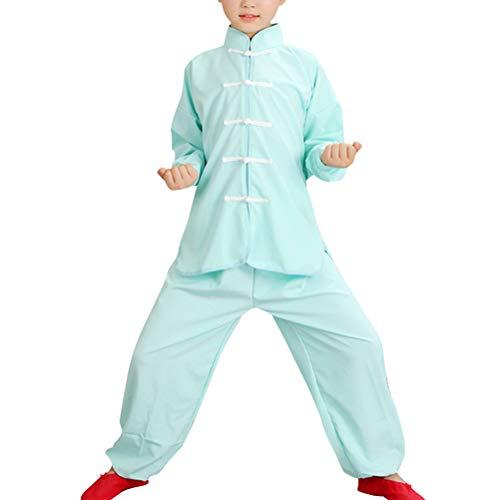 besbomig Studenti per Bambini Uniformi Cinesi Tradizionali di Tai Chi Uniformi Kung Fu Uniformi Kimono Bambina