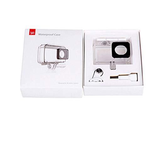 Caja Impermeable + Bluetooth Control Remoto inalámbrico Monopod Selfie Stick para Xiaomi Yi Xiaoyi 2 4K Yi Lite Cámara de acción Caja Impermeable sólo