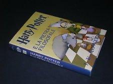 HARRY POTTER e la pietra filosofale di J.K.Rowling ed.Mondolibri A86