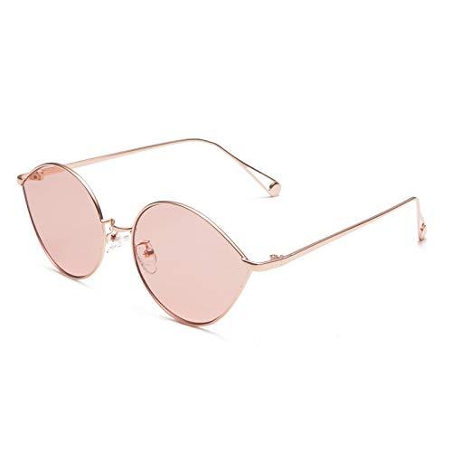 Weiwei Sonnenbrille,Wassertropfen Sonnenbrillen Männer und Frauen Metall Sonnenbrillen Retro...