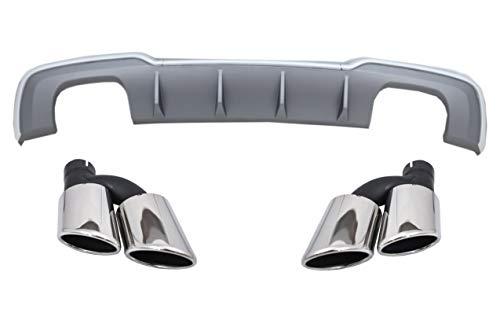 KITT CORDAUA38VFHSTY - Mantovana per paraurti posteriore, per marmitta Sportback, modelli 16-19