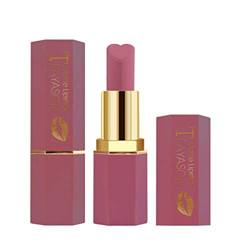Honig Kostüm Glas - BOLANQ Cosmetics Matte Und KüRbis Farbe Bohnenpaste Lip Solid Gloss Lipstick Long Last