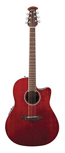 OVATION CELEBRITY STANDARD CS24RR RUBY RED Elektroakustische Gitarren Folk Elektro-Akustik (Gitarre Ovation Celebrity)