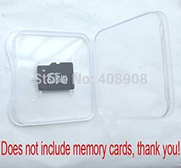 100 Pcs/lot PP Plastic TF 1GB 2GB 4GB 8GB Micro SD Memory...