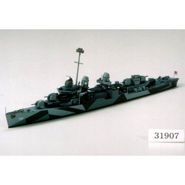 Tamiya - 31907 - Maquette - Bateau - Destroyer Uss Cushing