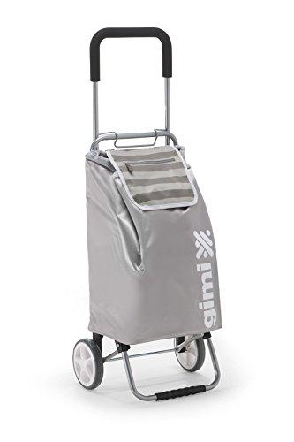Gimi Flexi Silber Einkaufstrolley