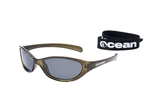 16ae76bf3da OceanGlasses - Oahu - Polarized Sunglasses - Frame   Transparent Red - Lens   Smoked (