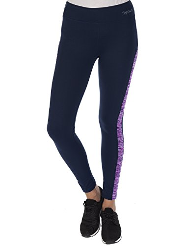 Bench Damen Leggings Silent, Total Eclipse, L, BLNF0053
