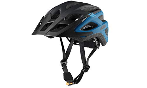 KTM Helm Factory Character Unisex schwarz matt/blau Gr.58-62 inkl.Key Holder (8-046)