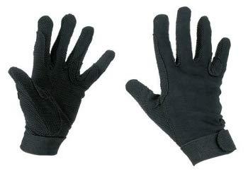 Kerbl Reithandschuhe, Jersey-Baumwolle Handschuhe Noppen, Unisex, M