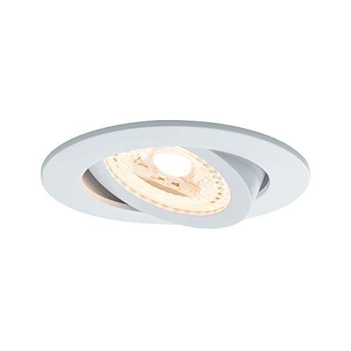 Paulmann 500.64 SmartHome ZigBee Lens LED Einbauleuchten  3er-Set schwenkbar Tunable White 50064- Amazon Echo Plus kompatibel