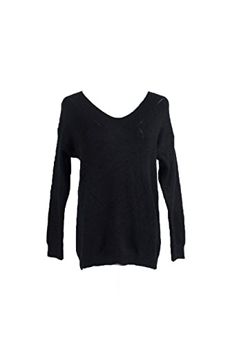 Manches Longues YACUN Femmes Occasionnel Au Pull - Overs Pull Jumper Black