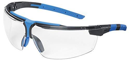 Uvex I-3 Schutzbrille - Supravision Excellence - Transparent/Schwarz-Blau