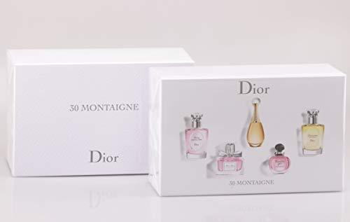 Christian Dior - 30 Montaigne Mini-Collection - 5 Miniaturen EDP + EDT / 32,5ml -