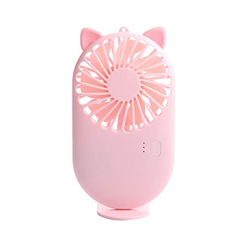 AOGOTO USB Ventilator tragbarer wiederaufladbarer Luftkühler Hand-Outdoor Thin Small Cute Mini Fan