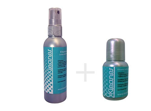 Kit de nettoyant salivaire 100ML spray + 30ML gouttes Kleaner/nettoyant toxines de salives Kleaner -...