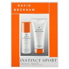 David Beckham Instinct Sport 2014 Deodorant & Body Wash Gift Set