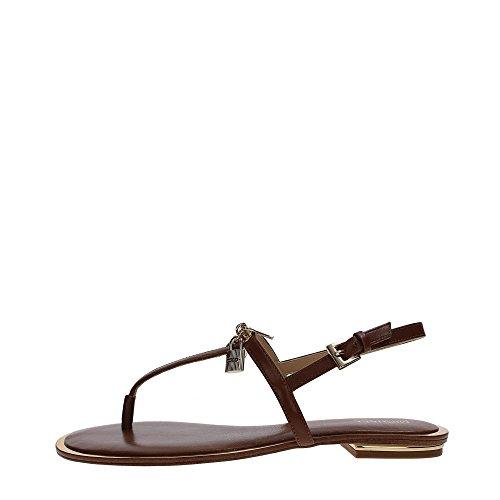 Michael Kors 40R7SKFA1L Sandalo Donna Pelle LUGGAGE LUGGAGE 38.5