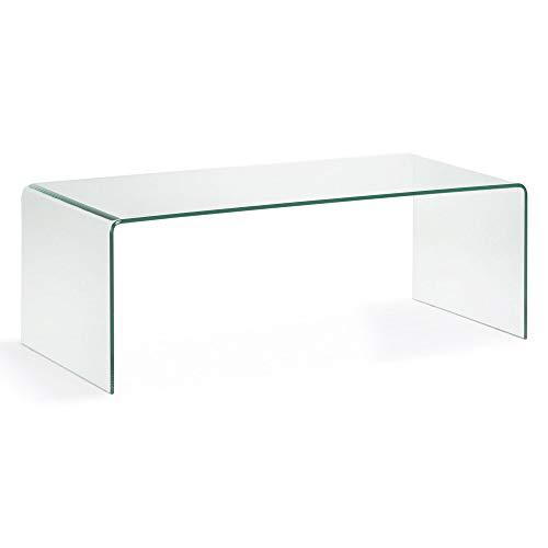 5. Kave Home - Mesa de centro de cristal Burano