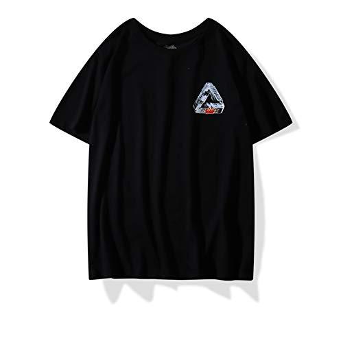 Palace t Shirt|Palace TRI-Shadow Christmas Hidden T-Shirt Short Sleeve Phantom Big Triangle Men Women
