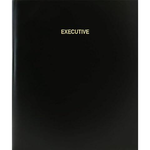 BookFactory® Ejecutivo Libro de registro/diario/diario página–120, 8,5