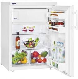Atlanta T 1714 Comfort A+ weiß - Kombi-Kühlbox (weiß, rechts, Edelstahl, SN-ST, 38 dB, 127 L)
