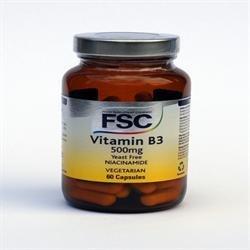 FSC Niacinamide 500mg (Vitamin B3) 60vegicaps - CLF-FSC-150250 from FSC