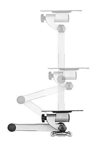 RICOO Monitor Halterung Monitorhalterung Wand S3511 Schwenkarm TFT TV Wandhalterung Schwenkbar Neigbar 4K Monitor Wandhalter für PC-Monitor und Fernseher mit 33 – 69cm (13 – 27″) VESA 75×75 100×100 - 3
