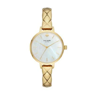 Kate Spade New York Metro Montre à Quartz Or