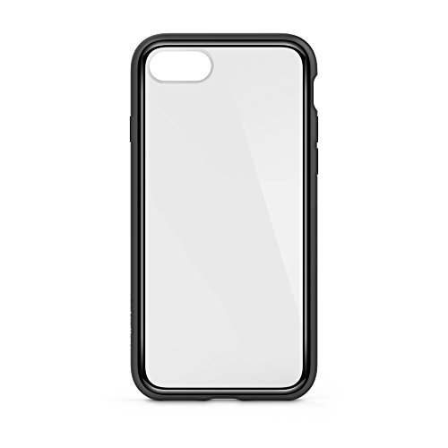 Belkin SheerForce Elite Schutzhülle (Polycarbonat, Sturzsicherheit, Anschlüsse frei zugänglich, geeignet für iPhone 8/7) schwarz