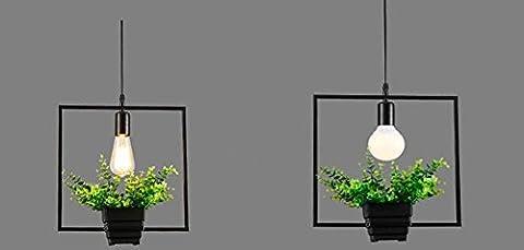 GBT Pots De Fleurs Plante Chandeliers Bar Restaurant Fleurs Pot , C (Lumières Led, Lumière Chaude, Lumière Blanche, Lustres, Lumières Intérieures, Lumières Extérieures, Appliques Murales),C