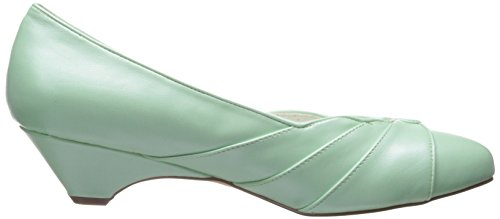Pin Up Couture Lulu-05 Mint Faux Cuir