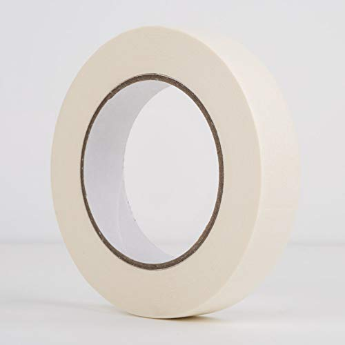 Ayat Premium Abdeckband - 24 mm zum Bemalen und Dekorieren - 50 Meter Rollen, hochwertiges Klebeband, starkes Klebeband, Basteln, Bodyspraying, 3 Rollen