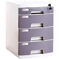 HongLianRiven Archivador cómodo Mano-Pull Diseño del derrumbamiento Pista cajón Conveniente Colección Smooth Sentido de la Moda de plástico de Almacenamiento Independiente 12-30 (Size : 4-Layers)