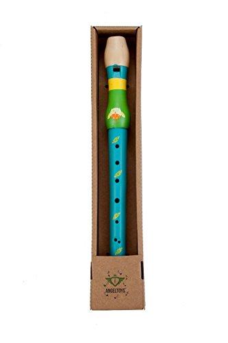Engelhart - Blaue Holzflöte, Musikinstrumente für Kinder - 770065