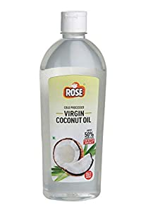 Rose Cold Processed Virgin Coconut Oil 510 ml