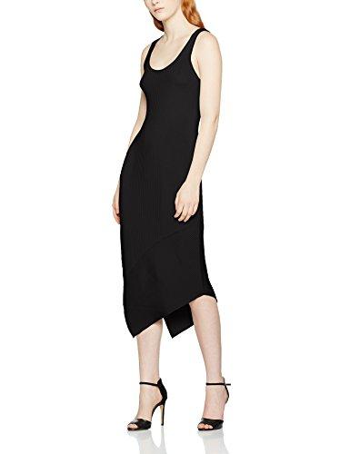 filippa-k-shiny-rib-tank-dress-vestido-para-mujer-negro-negro-large
