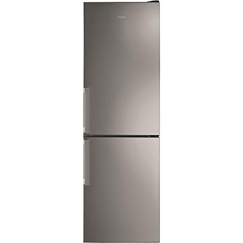 Hotpoint H5T811IMXH 70/30 Split 338L Freestanding Fridge Freezer - Mirror/Inox