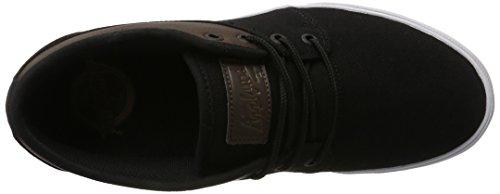 Globe  Mahalo, Chaussures de skateboard homme Noir (Black Twill/brown)