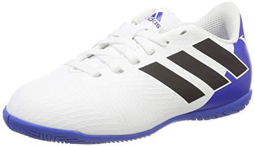 adidas Unisex-Kinder Nemeziz Messi Tango 18.4 In Futsalschuhe, Weiß (Ftwbla/Negbás/Fooblu 001), 35 EU