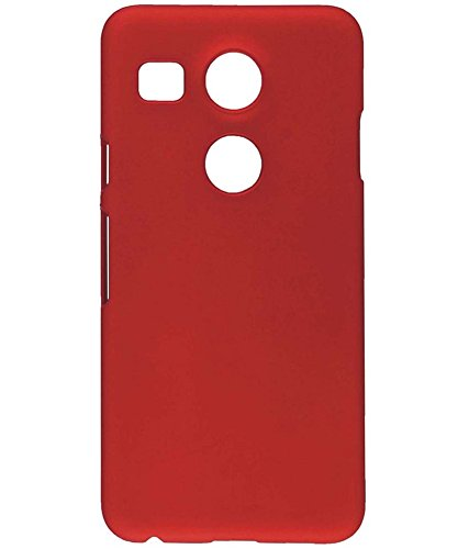 Shop Buzz Rubberised Matte Hard Case Back Cover For LG Nexus 5X (Wine Red Colour) - For Google Nexus 5 X LG-H791  available at amazon for Rs.159
