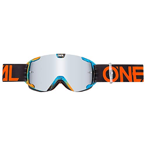 O'Neal  B30 Ink Youth Kinder Goggle MX DH Brille orange/blau/klar Oneal