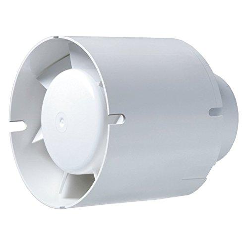 In-Line Lüfter D100 / 125 / 150 Blauberg Tubo Rohrlüfter Ventilator (125mm - 195 m³/h)
