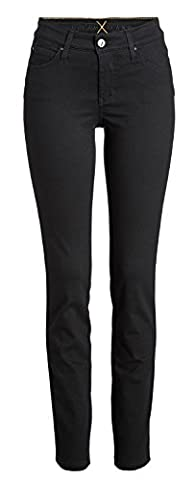 MAC Dream Skinny Damen Jeans Hose 0355l540290 , Farbe:D999 black black;Größe:W42/L32