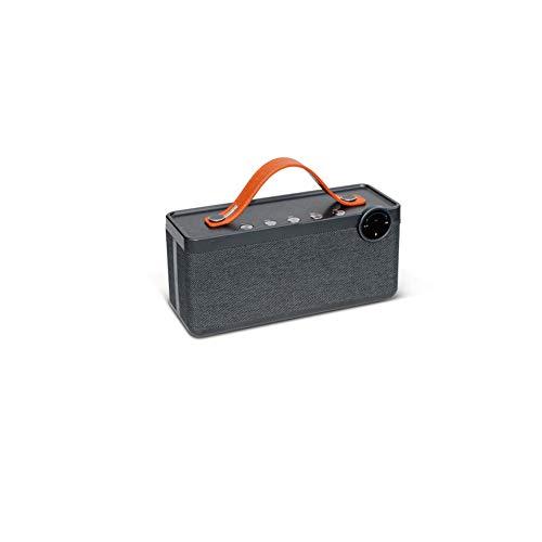 PXYUAN Drahtloser Bluetooth-Retro-Lautsprecher, Desktop-Subwoofer-Computer-Lautsprecher 8 Stunden ununterbrochene Spielzeit klassischer Stoff Outdoor-Smartphone drahtloser Lautsprecher Chef-auto-subwoofer