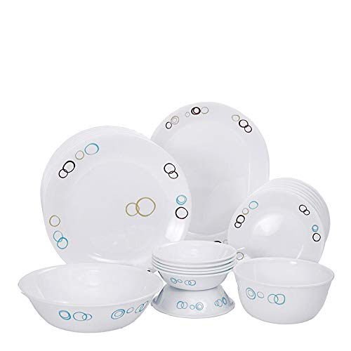 Corelle Livingware Circle Dinner Set, 21-Pieces
